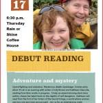 Kathleen Glanville -Cindy Brown reading April 17, 2014