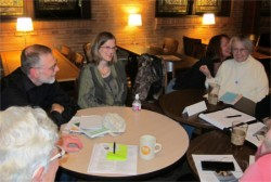Oregon writers talk books and publishing at the April 2014 Literary Lounge