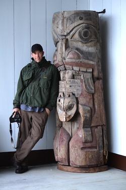 Chris Bernard, author of Chasing Alaska